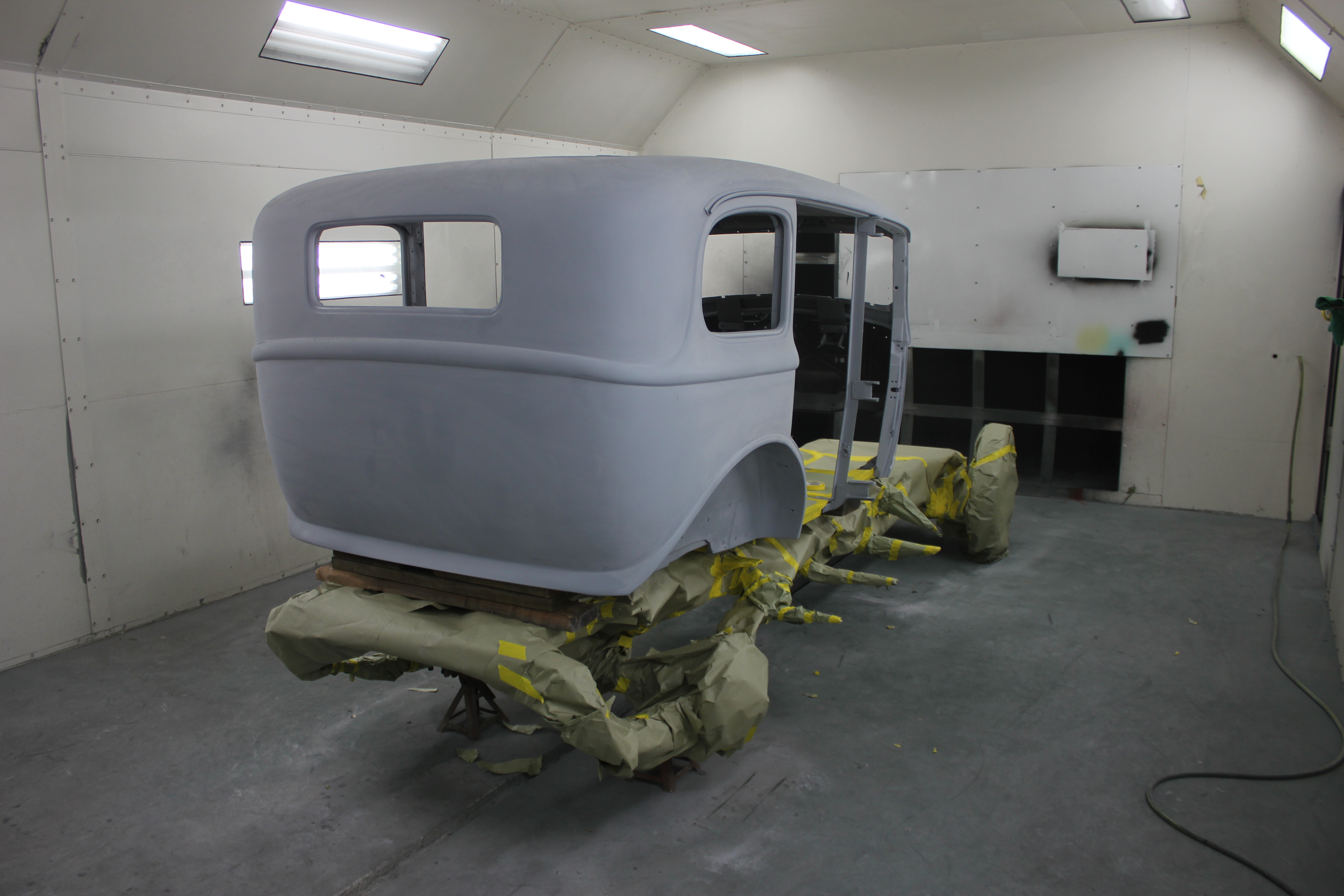 Concours Restoration shop in Tennessee 31 Hudson sedan with Murray Body
