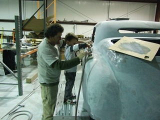 Award Winning Antique Auto Restorations by Mark Seybold teaching George